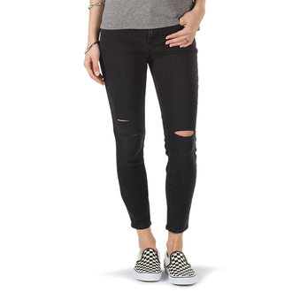 Damen Jeans VANS - DESTRUCTED SKINNY - Rauch, VANS