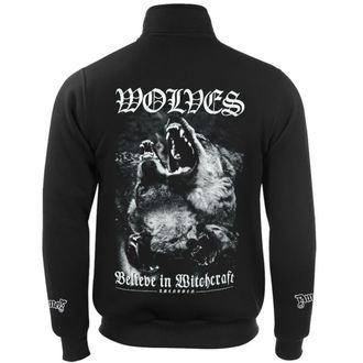 Herren Sweatshirt Hardcore - WOLVES - AMENOMEN, AMENOMEN