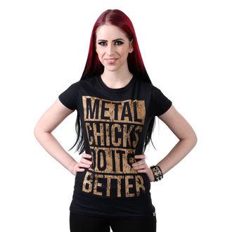 Damen T-Shirt Hardcore - Metal chicks - METAL CHICKS MACHEN ES BESSER, METAL CHICKS DO IT BETTER