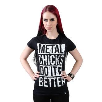 Damen T-Shirt Hardcore - Metal chicks - METAL CHICKS DO IT BETTER, METAL CHICKS DO IT BETTER