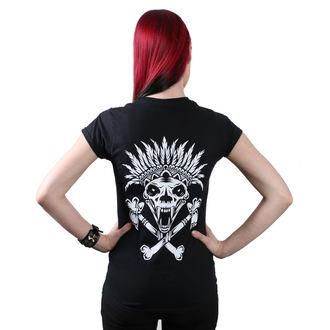 Damen T-Shirt Hardcore - Indian - METAL CHICKS DO IT BETTER, METAL CHICKS DO IT BETTER