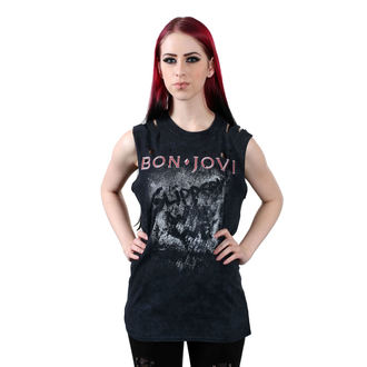 Damen Tanktop BON JOVI - SLIPPERY WHEN WET - PLASTIC HEAD, PLASTIC HEAD, Bon Jovi