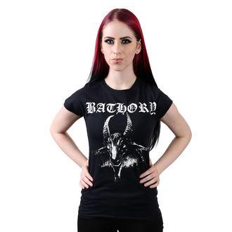 Damen T-Shirt  Bathory - Goat, PLASTIC HEAD, Bathory