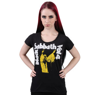 Damen T-Shirt Metal Black Sabbath - BLACK - AMPLIFIED, AMPLIFIED, Black Sabbath