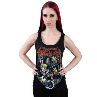 Damen Tanktop METALLICA - Fillmore Caricature - schwarz - ATMOSPHERE, Metallica