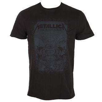 Herren T-Shirt Metal Metallica - THE BLACK ALBUM - AMPLIFIED, AMPLIFIED, Metallica