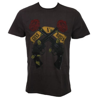 Herren T-Shirt Metal Guns N' Roses - SHOOTING ROSES - AMPLIFIED, AMPLIFIED, Guns N' Roses