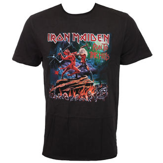 Herren T-Shirt Metal Iron Maiden - RUN TO THE HILLS - AMPLIFIED, AMPLIFIED, Iron Maiden
