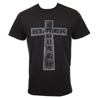 Herren T-Shirt Metal Black Sabbath - CROSS - AMPLIFIED, AMPLIFIED, Black Sabbath