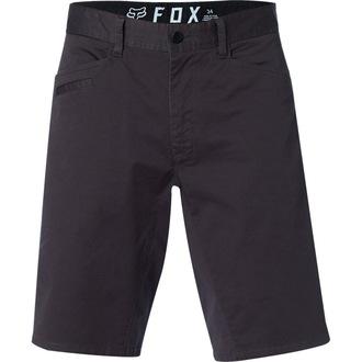 Herren Shorts FOX - Stretch Chino - Schwarz Jahrgang, FOX