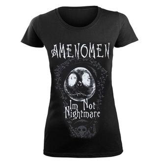 Damen T-Shirt Hardcore - I'M NOT NIGHTMARE - AMENOMEN, AMENOMEN