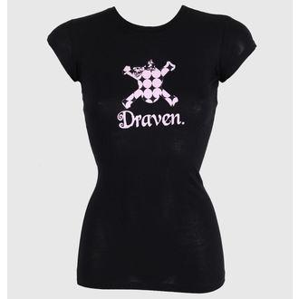 Damen T-Shirt  DRAVEN - Polkaskull, DRAVEN