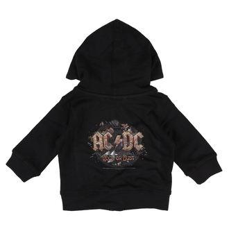 Kinder Hoodie AC-DC - Rock or bust - Metal-Kids, Metal-Kids, AC-DC