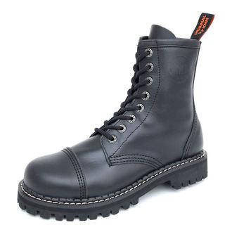 Lederstiefel/Boots KMM  - 8-Loch - Black, KMM