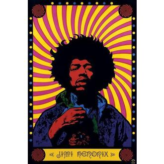 Posters Jimi Hendrix (Psychedelic) - PP30356, PYRAMID POSTERS, Jimi Hendrix