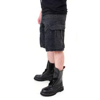 Männer Shorts SURPLUS - Checkboard - SCHWARZE, SURPLUS