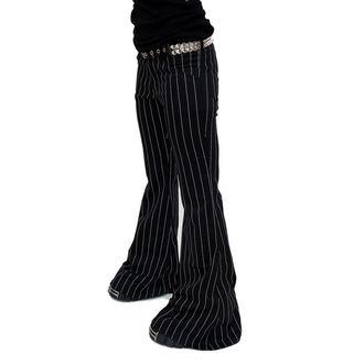 Damen Hose  Mode Wichtig - Flares Pin Stripe Black-White, MODE WICHTIG