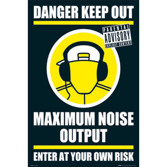 Poster - DANGER KEEP OUT II - GN0139, GB posters