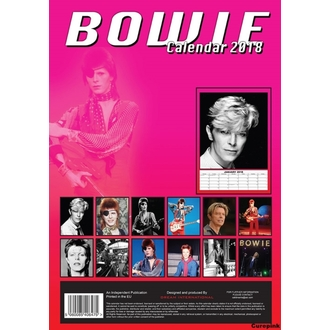 Wandkalender 2018 DAVID BOWIE, David Bowie