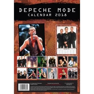 Wandkalender 2018 DEPECHE MODE, Depeche Mode