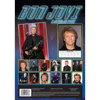 Wandkalender 2018 BON JOVI, Bon Jovi