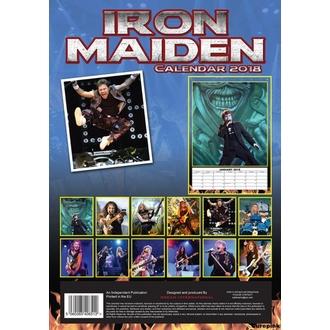 Wandkalender 2018 IRON MAIDEN, Iron Maiden