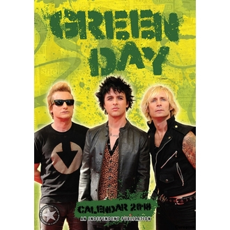 Wandkalender 2018 GREEN DAY, Green Day