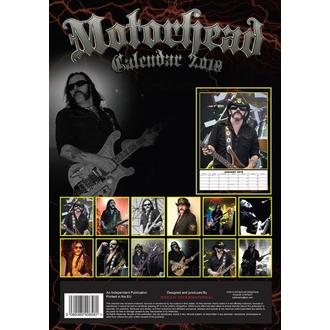 Wandkalender 2018 Motörhead, Motörhead