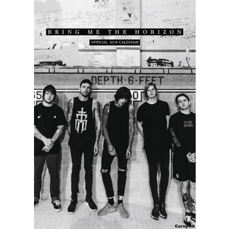 Wandkalender 2018 BRING ME THE HORIZONT, Bring Me The Horizon