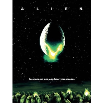 Bild Alien - One-Sheet - PYRAMID POSTERS, PYRAMID POSTERS, Alien - Vetřelec