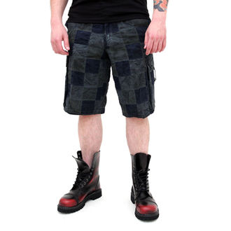 Männer Shorts SURPLUS - Checkboard - BLUE, SURPLUS