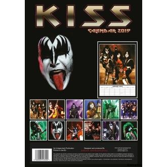 Wandkalender 2019 - KISS, NNM, Kiss