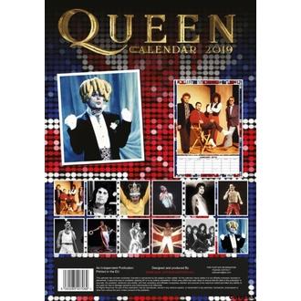 Wandkalender 2019 - QUEEN, NNM, Queen