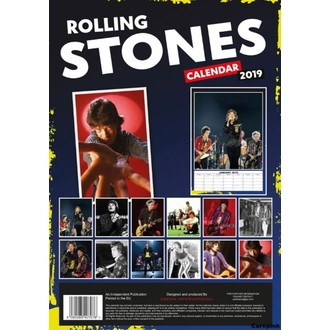 Wandkalender 2019 - Rolling Stones, NNM, Rolling Stones