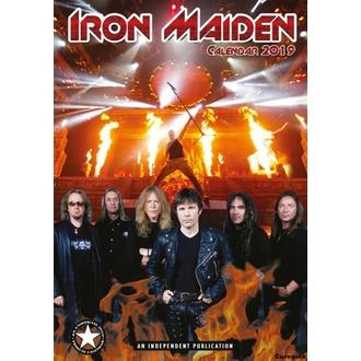 Wandkalender 2019 - Iron Maiden, NNM, Iron Maiden