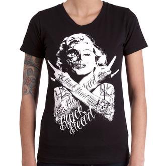 Damen T-Shirt Street - BH SKULL BITCH - BLACK HEART, BLACK HEART