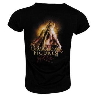 Damen T-Shirt  Graveworm - Diabolical Figures Girlie -160291, NUCLEAR BLAST, Graveworm