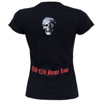 Damen T-Shirt  Death - Life Will Never Last - GS335, RAZAMATAZ, Death