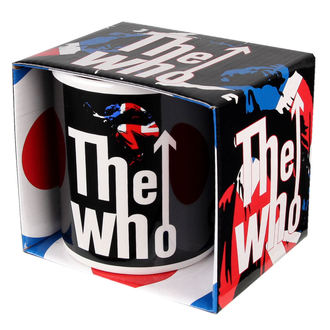 Keramiktasse  (Pott) The Who - Union Jack, ROCK OFF, Who