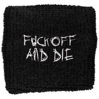 Schweißarmband Darkthrone - Fuck Off and Die, RAZAMATAZ, Darkthrone