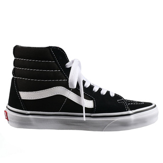 Schuhe VANS - Sk8-Hi - BLACK/BLACK/WHITE