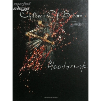 Fahne Children of Bodom - Blooddrunk, HEART ROCK, Children of Bodom