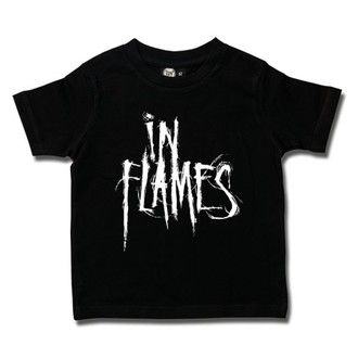 Kinder T-Shirt Metal In Flames - Logo - Metal-Kids, Metal-Kids, In Flames
