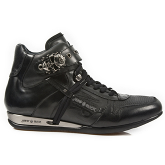 Schuhe NEW ROCK - NOMADA NEGRO ANTIK Pulido