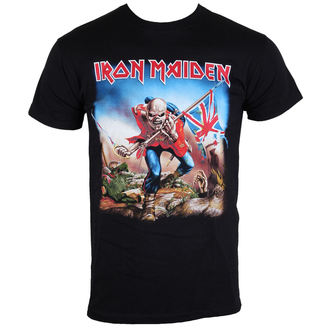 Herren T-Shirt Iron Maiden - The Trooper - IMTEE03MB, ROCK OFF, Iron Maiden