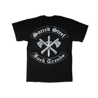 Herren T-Shirt Sacred Steel 'Fuck Trends' - MUSICAT, MUSICAT, Sacred Steel