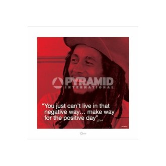 Posters Bob Marley (I.Quote - Positive Day) - Pyramid Posters