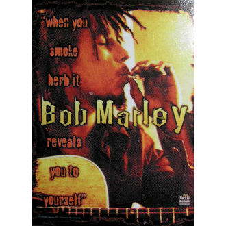Fahne Bob Marley - Enthüllt, HEART ROCK, Bob Marley