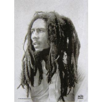 vlajka Bob Marley HFL 027  , HEART ROCK, Bob Marley