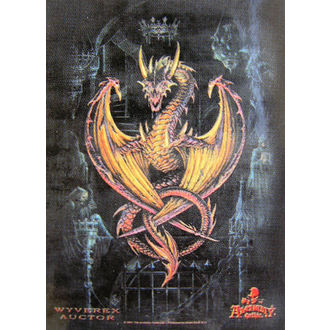Fahne Achemy Gothic HFL 346, HEART ROCK